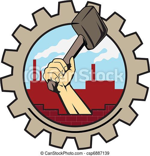factory icon - csp6887139