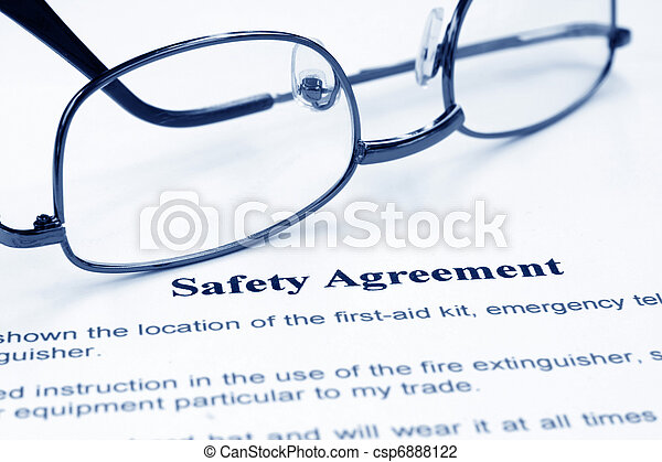 Safety agreement - csp6888122