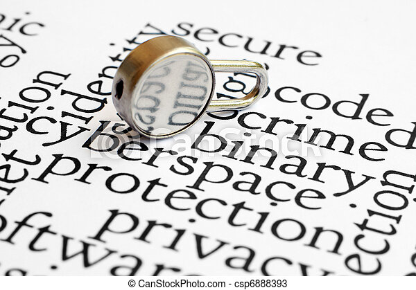 sicurezza - csp6888393