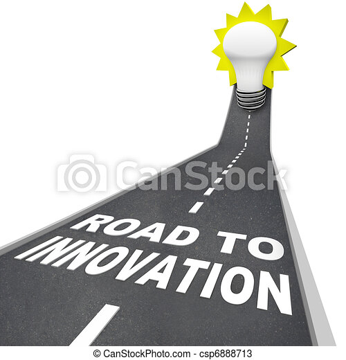 Road to Innovation - Path to Creative Problem Solving - csp6888713