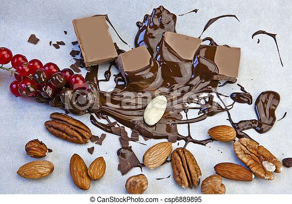 molten chocolate - csp6889895