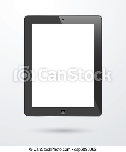 touch screen tablet - csp6890062