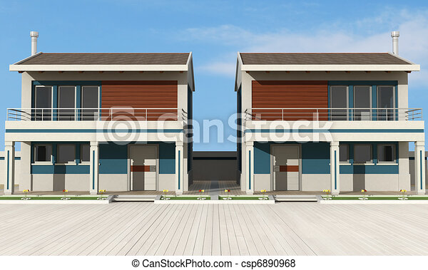 Residential complex - csp6890968
