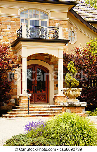Rich Home Entrance - csp6892739