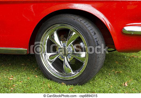 Old automobile - csp6894315
