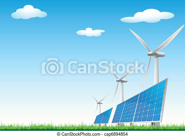 renewable energy sources - csp6894854