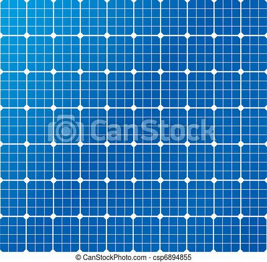 solar cells pattern - csp6894855