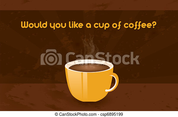 cup of coffee - csp6895199