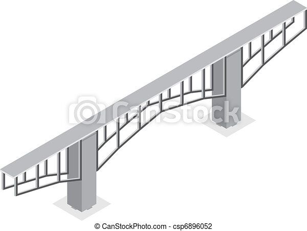 isometric view of the bridge - csp6896052