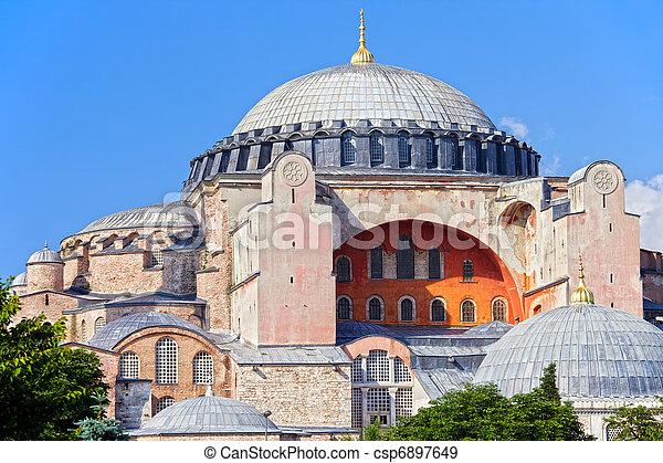 Ayasofya Byzantine Landmark - csp6897649