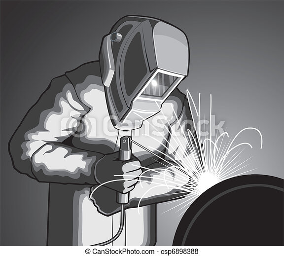 Welder at Work - csp6898388