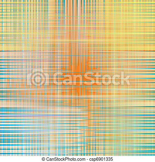 fabric texture. weave colorful thre - csp6901335