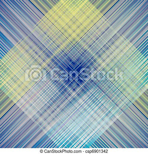 fabric texture. weave colorful thre - csp6901342