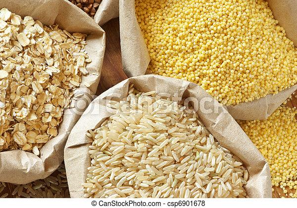 Assorted cereals - csp6901678