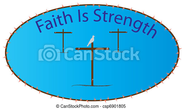 Faith is Strength - csp6901805
