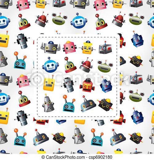 robot head clip art vector graphics. 2,425 robot head eps clipart