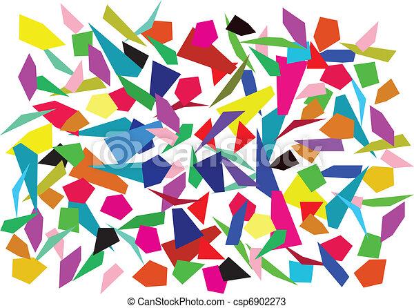 colorful splinters - csp6902273
