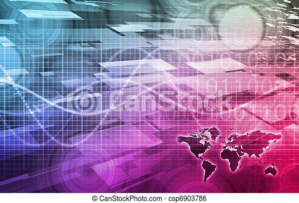 Media Communication - csp6903786