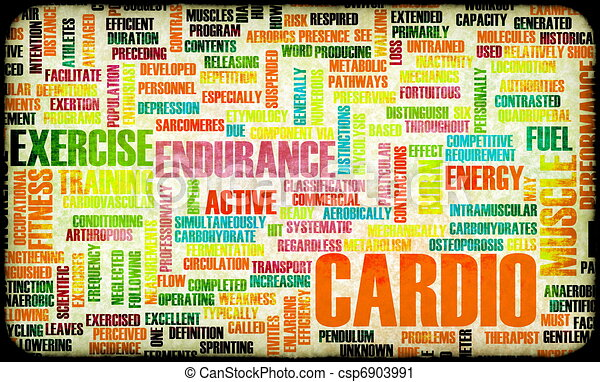 Cardio Workout - csp6903991