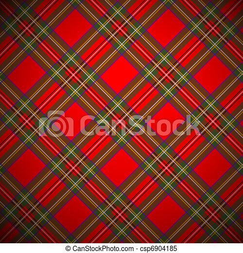 Royal Stewart tartan - csp6904185