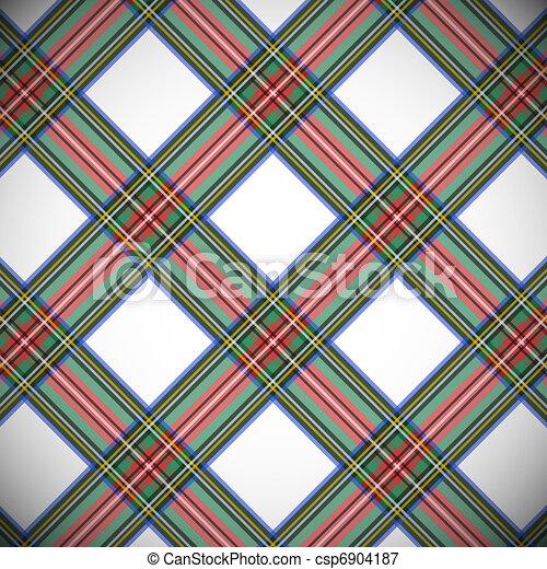 Modern dress stewart tartan background eps file includes seamless