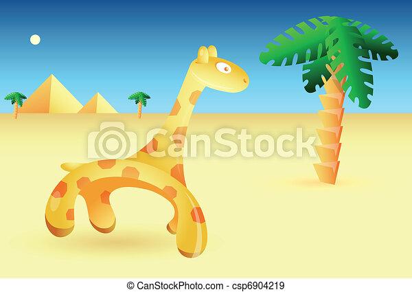 African scenery - csp6904219