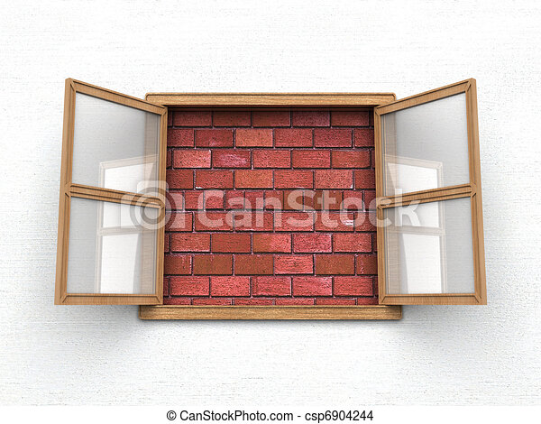 Window with no view - csp6904244