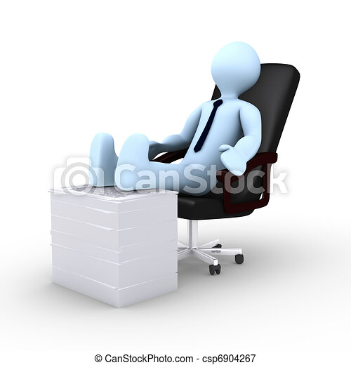 Too tired to work - csp6904267