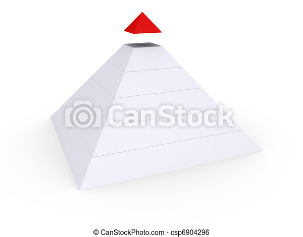 Completing the Pyramid - csp6904296