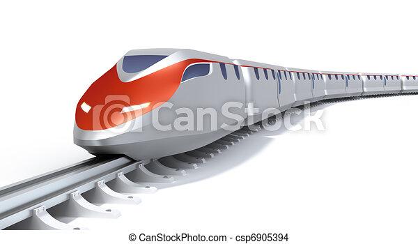 High speed train concept - csp6905394