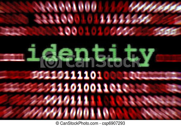 Identity - csp6907293