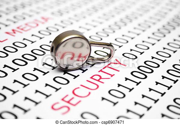 sicurezza - csp6907471