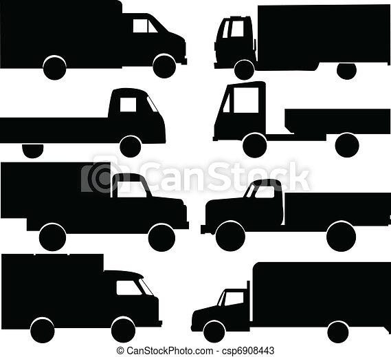 trucks collection - csp6908443