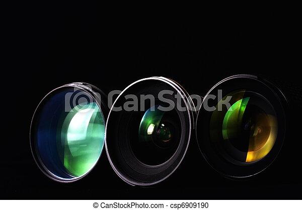 Photography Lenses - csp6909190