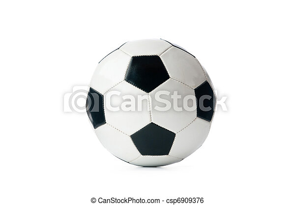 Sporting concept with football - csp6909376