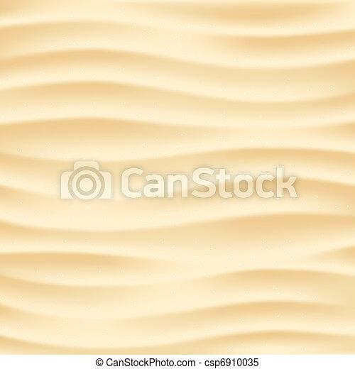 Beach sand background - csp6910035
