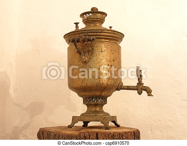 Old samovar. - csp6910570
