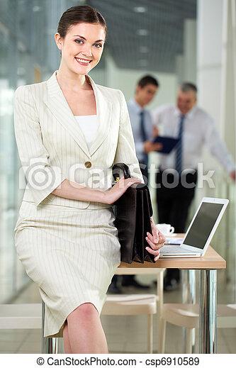 Happy employer - csp6910589