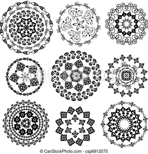 Set Oriental Arabesque - csp6912070