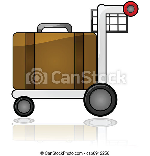 Luggage cart - csp6912256