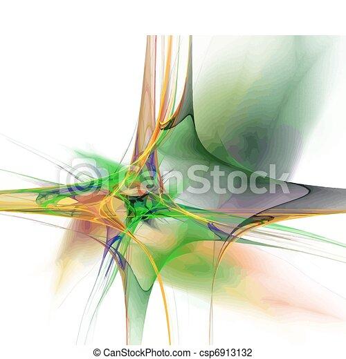 Vector fractal - csp6913132