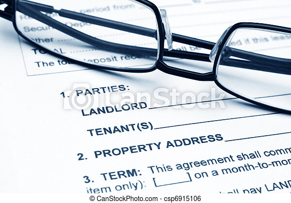Residential lease agreement - csp6915106