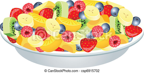fruit salad  - csp6915702