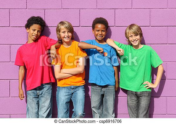 diverse kids - csp6916706