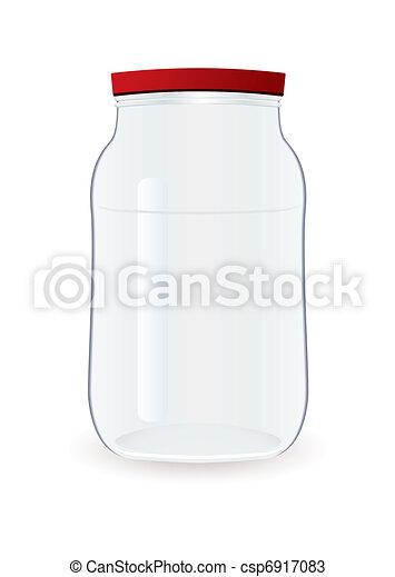 Jam jar empty - csp6917083