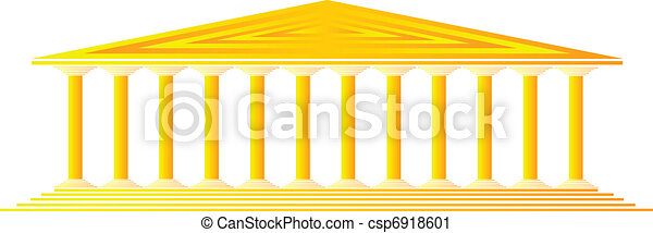 Greek temple - csp6918601