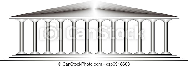 Greek temple - csp6918603