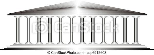 Greek temple - csp6918603