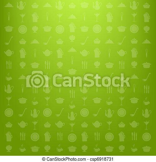 Kitchen Background - csp6918731