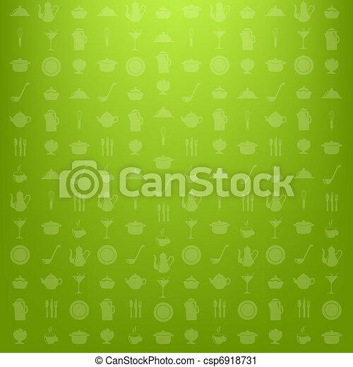 Kitchen Background - csp6918731